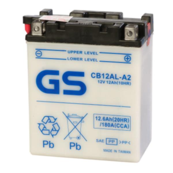 Аккумулятор GS CB12AL-A2 (б\э) 373.