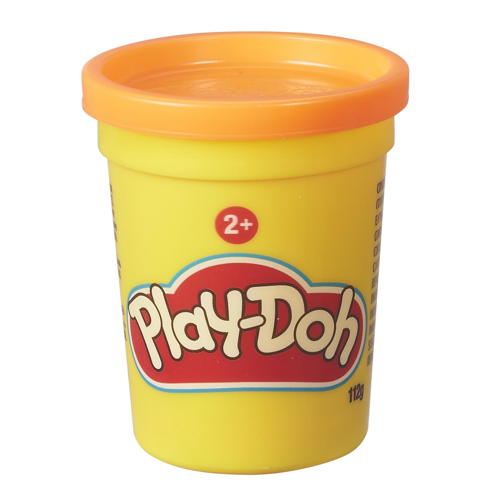 Купить Пластилин Hasbro Play-Doh в банке, цвет оранжевый, Наборы для лепки Play-Doh