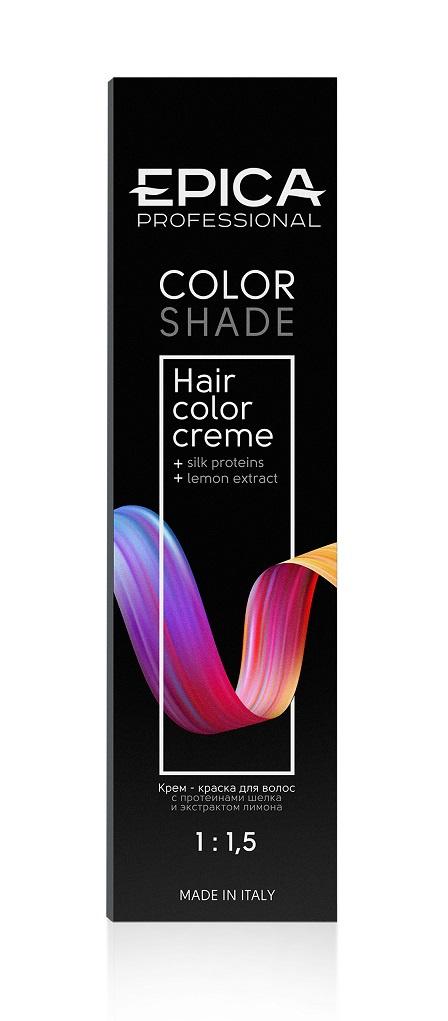 Крем-краска для волос Epica Colors Shade 7.11 русый пепельный интенсивный 100 мл