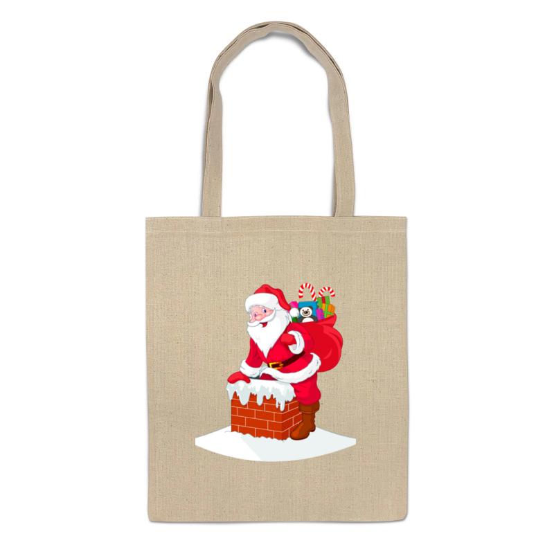 Сумка Printio Дед мороз с подарками