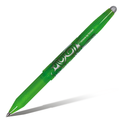 Ручка гелевая PILOT FriXion Ball светло-зеленая 0,7мм (1 штука)