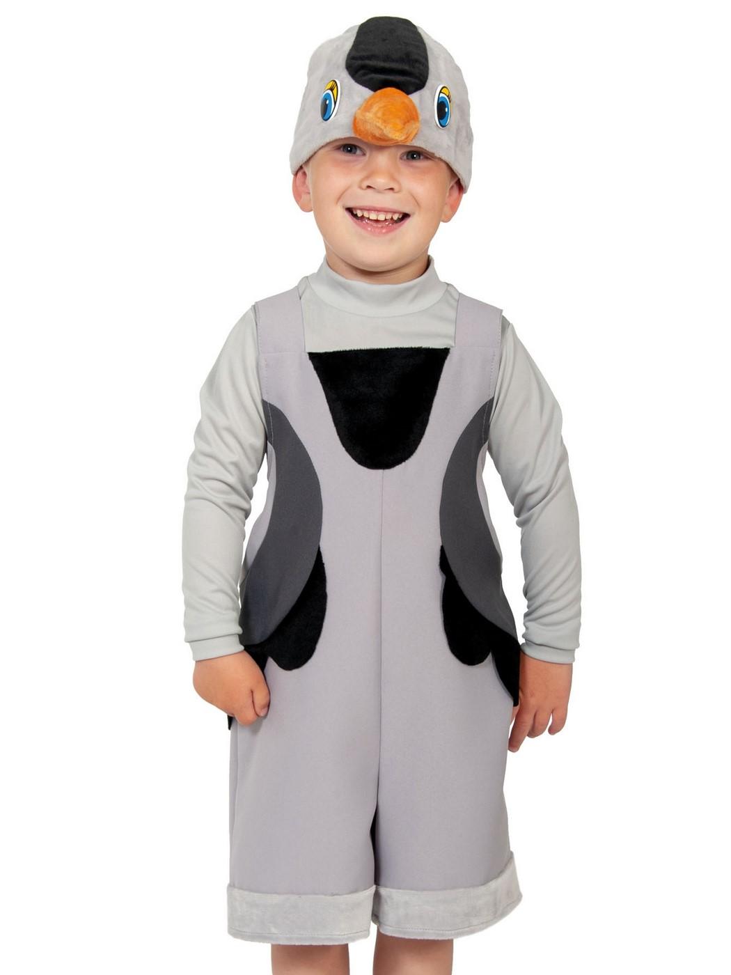 Купить 2110, Карнавальный костюм Карнавалофф Журавль, цв. серый р.98,
