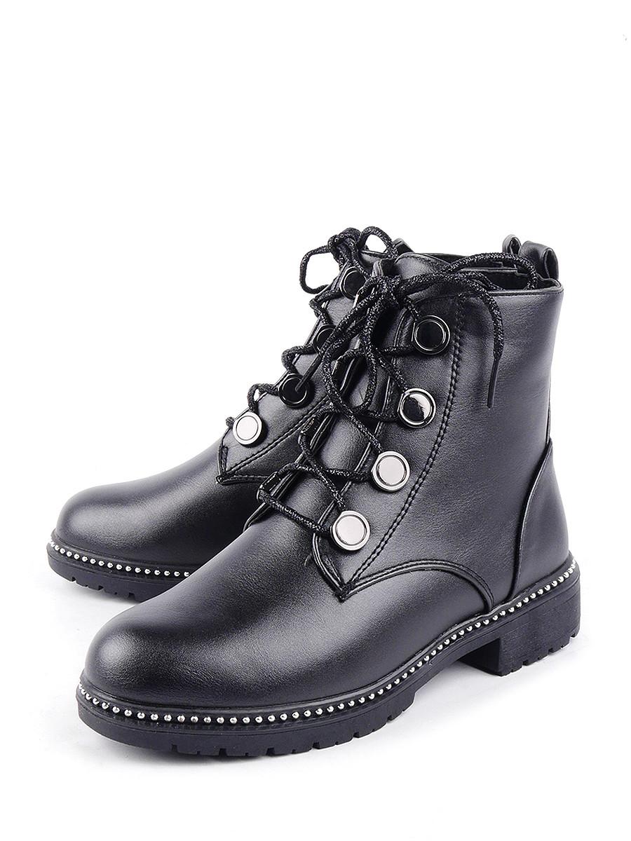 Купить Ботинки для девочек BERTEN 9614 цв. черный р.33