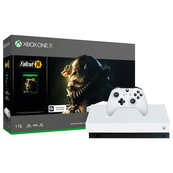 Игровая приставка Microsoft Xbox One X White