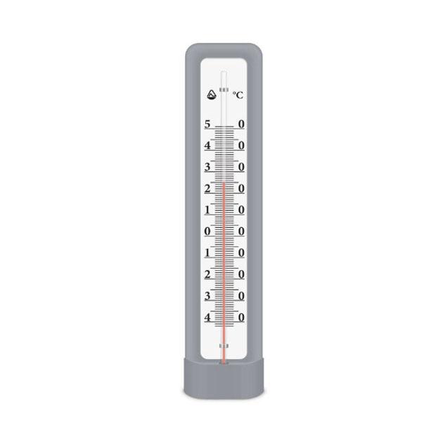 Термометр фасадный ТБН3М2 4, пластик, цв. серый