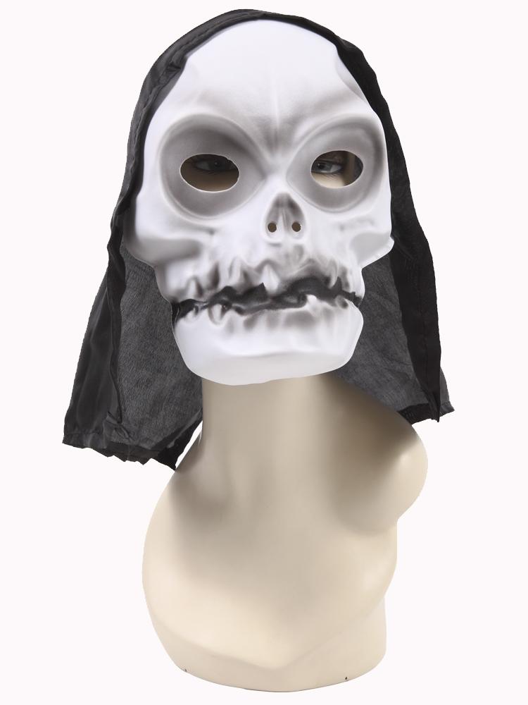 Купить Маска Череп для взрослых (Цв: Черный-Белый)/Arte/939, АРТЭ Театральная Галерея,
