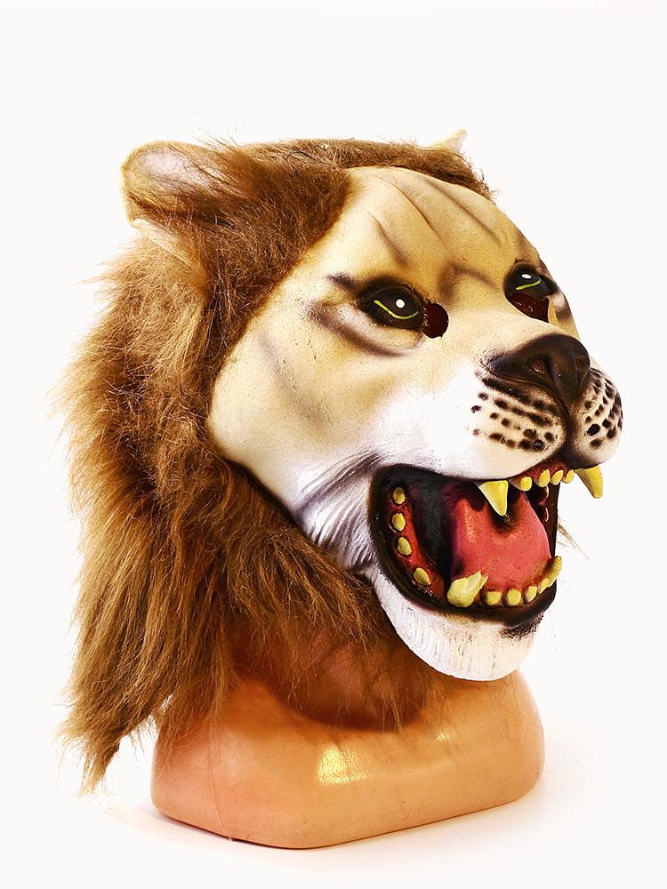Купить Маска латексная АРТЭ Лев, коричневый, АРТЭ Театральная Галерея,