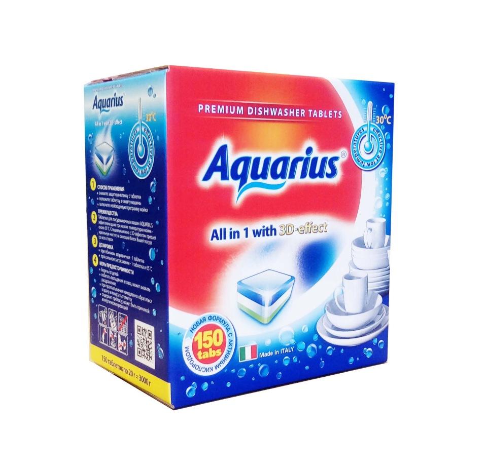 Таблетки Aquarius All in 1 mega