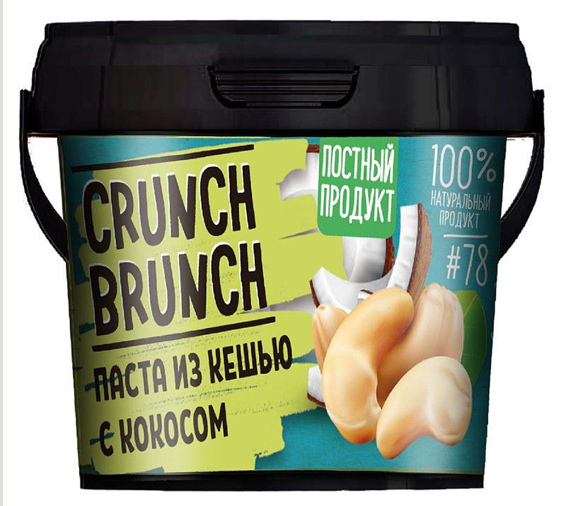Паста из кешью Crunch Brunch с кокосом 300 г фото