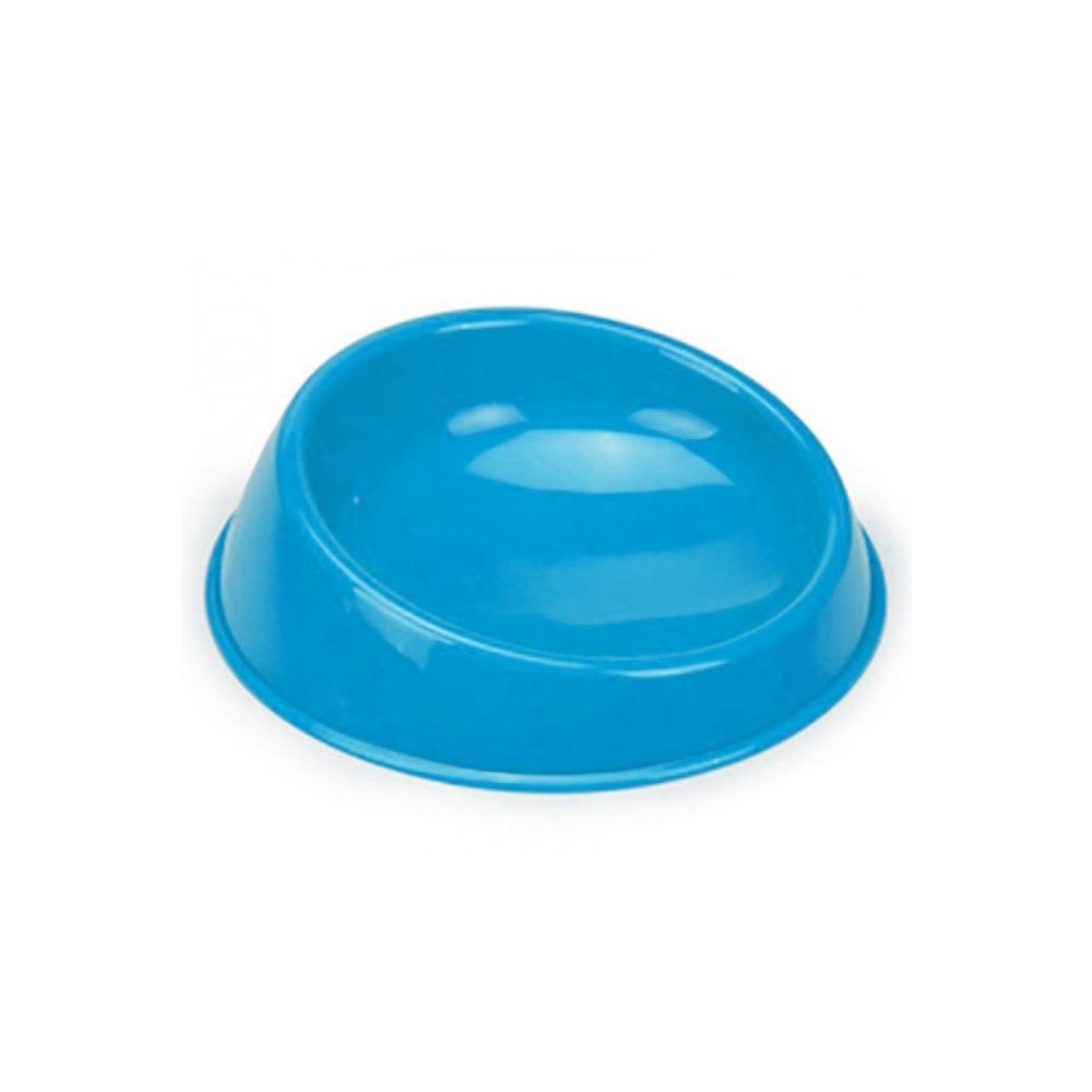 Миска для кошек Beeztees, пластмассовая, голубая,