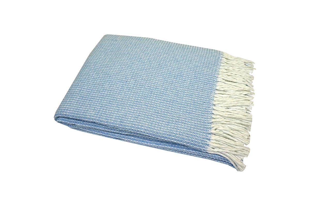 Плед Verona Цвет: Бело-Голубой (140х200 см)