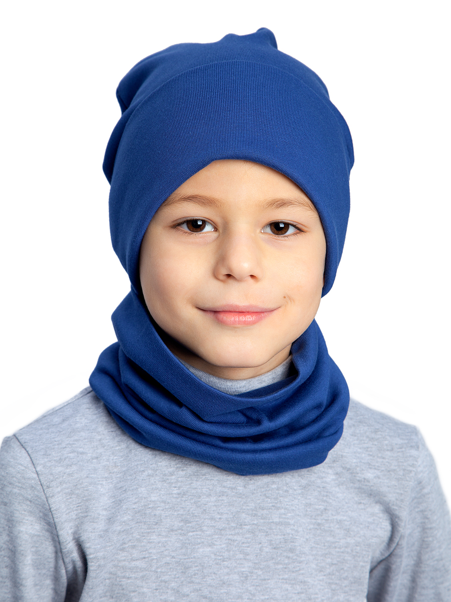 Комплект детский Веселый малыш, цв. синий