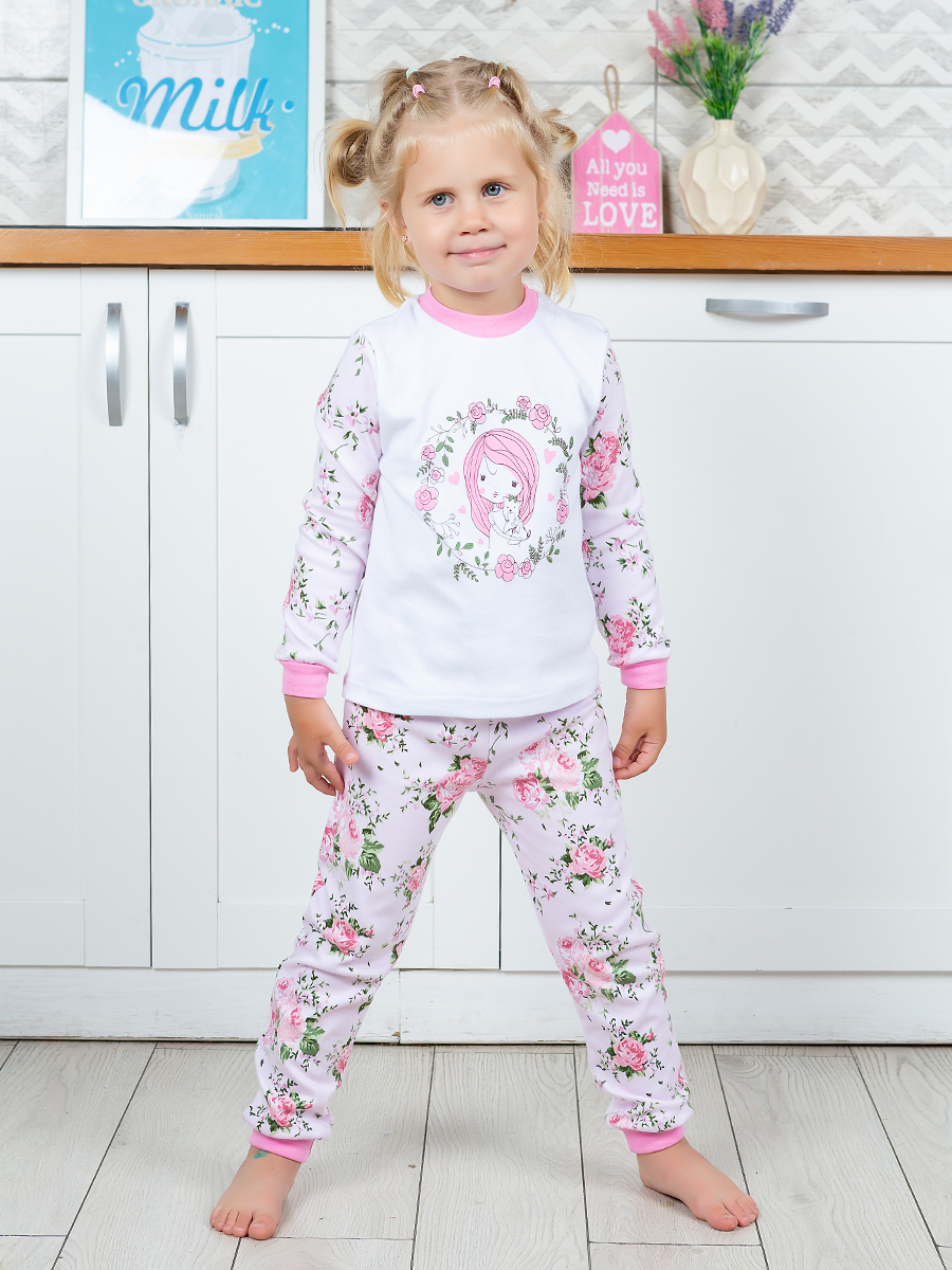 Купить 257322, Пижама детская Веселый малыш, цв. разноцветный р.110,