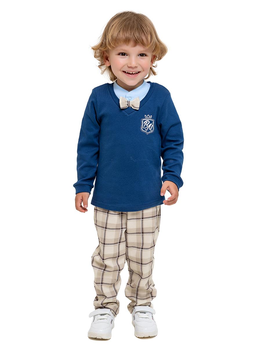 Комплект одежды Веселый малыш, цв. бежевый р.80