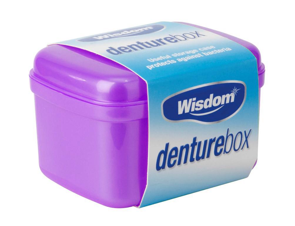 Wisdom Denture box 12 для съемных протезов