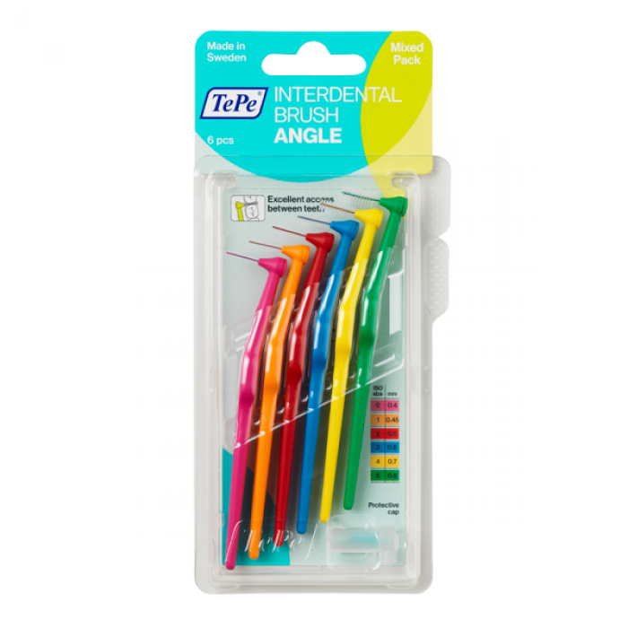 TePe Interdental brush Angle Угловые межзубные ершики