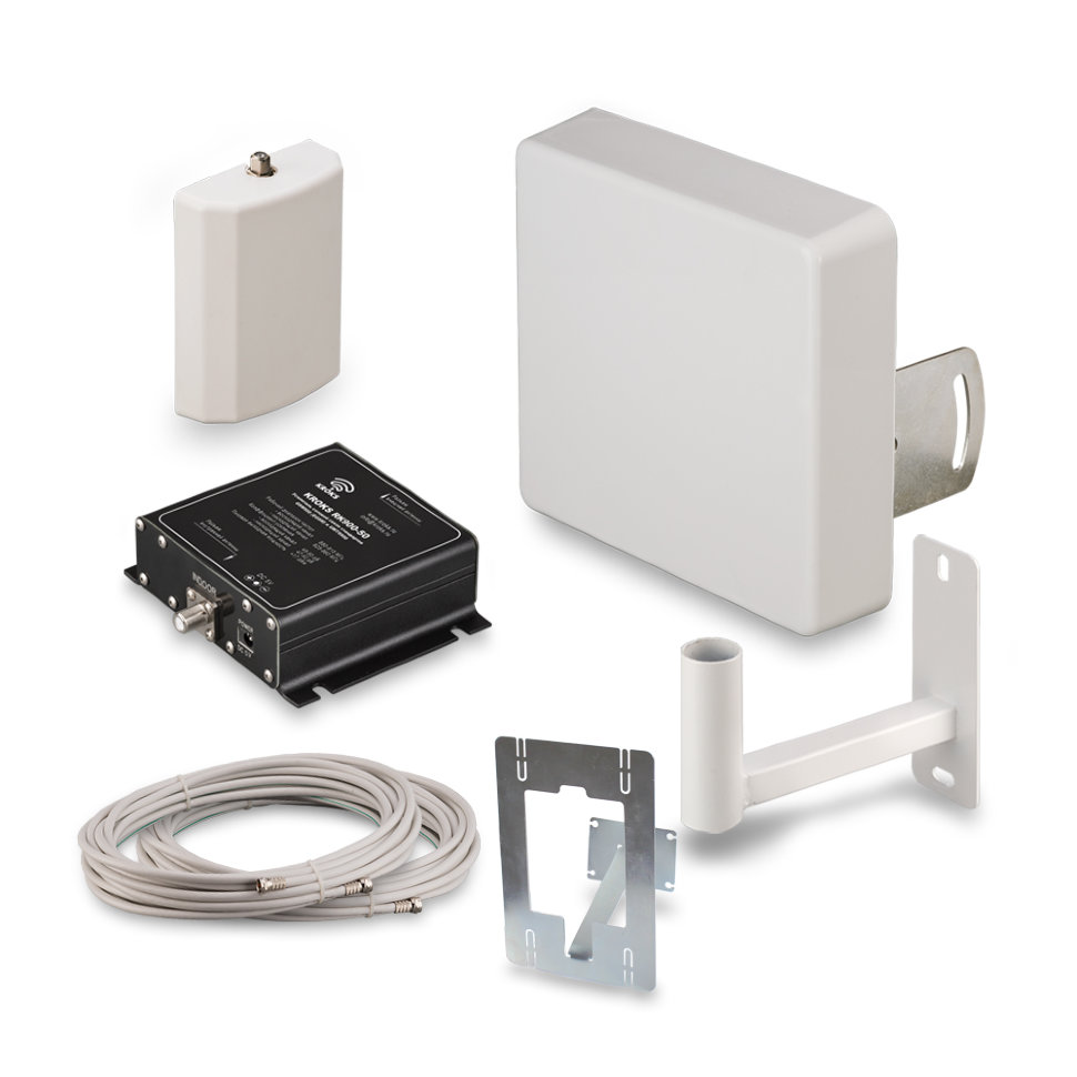 Комплект усиления сотовой связи GSM900 Kroks