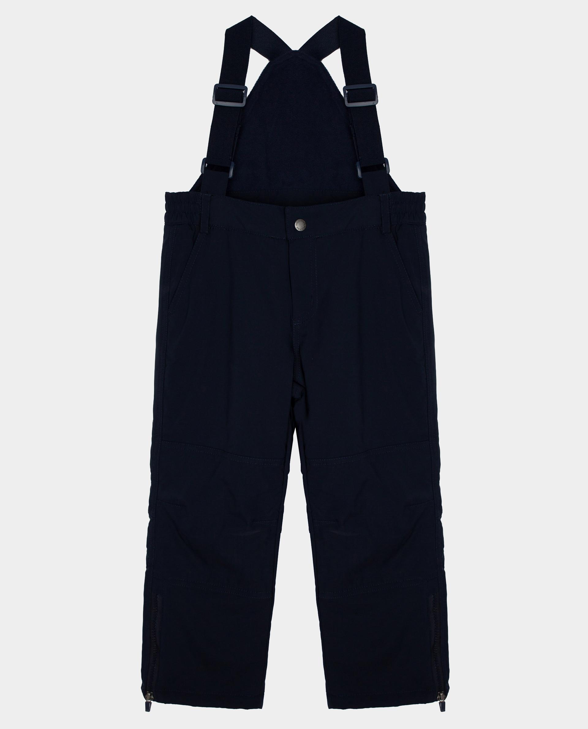 Купить Синие брюки утепленные зимние Gulliver 22010BJC6401, размер 140,
