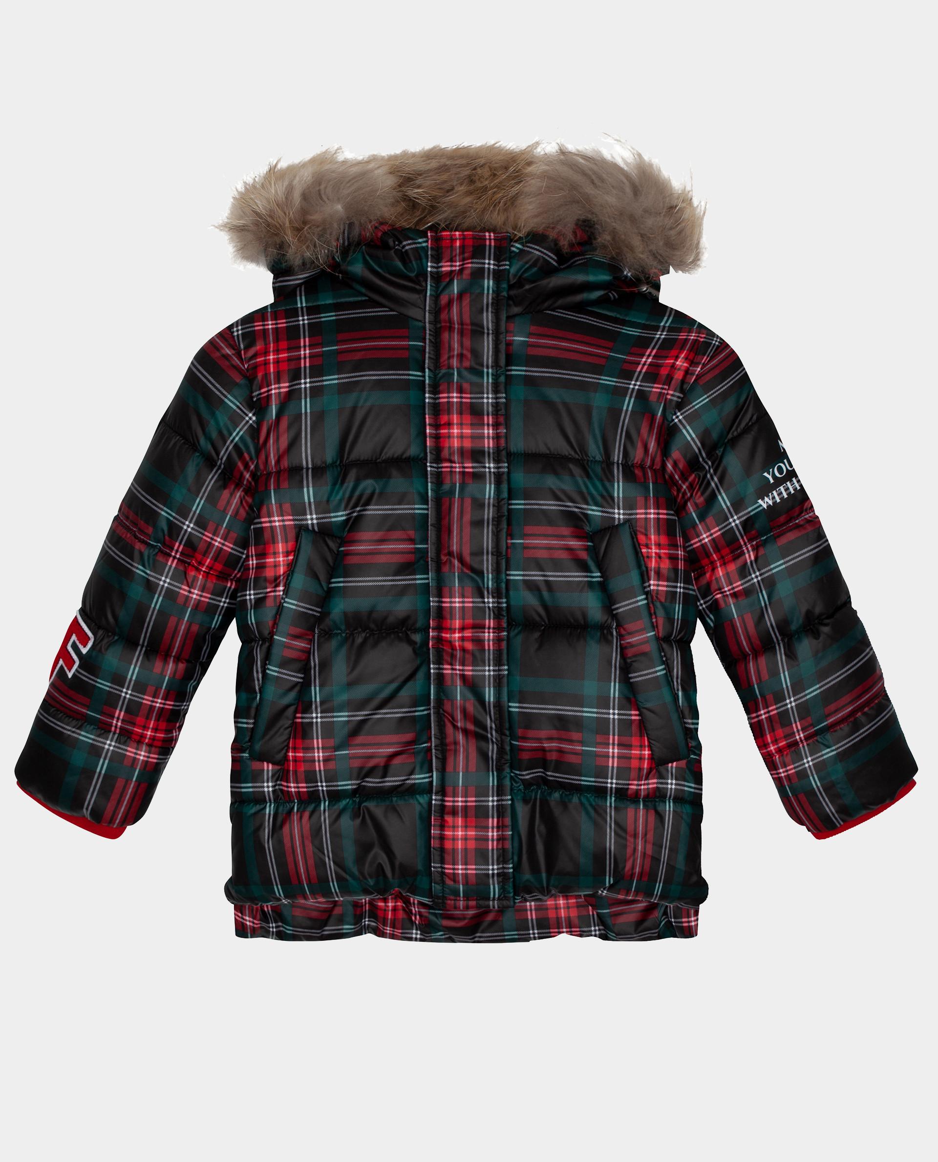 Купить Зеленая куртка зимняя Gulliver 22002GMC4103, размер 104,