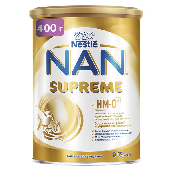 Купить Молочная смесь NAN Supreme с рождения 400 г, Детские смеси 1 (с рождения)