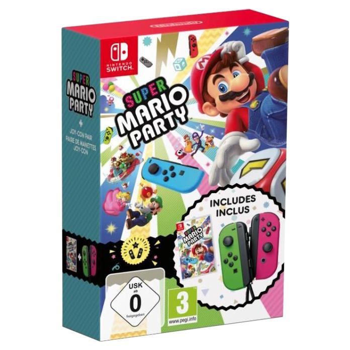 Геймпад Nintendo Switch Joy Con Super Mario