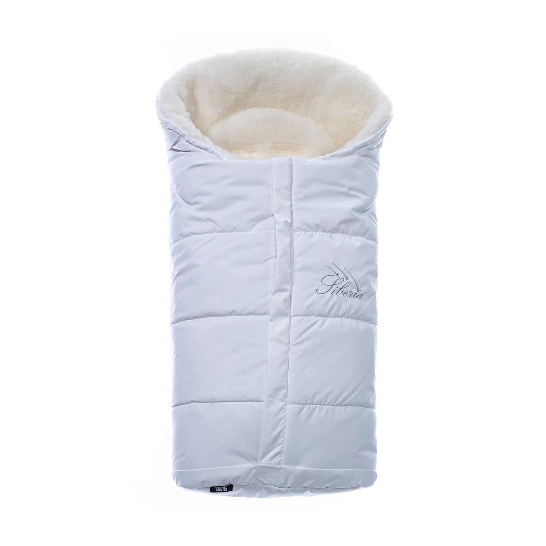 Конверт зимний меховой Nuovita Siberia Bianco Bianco, Белый