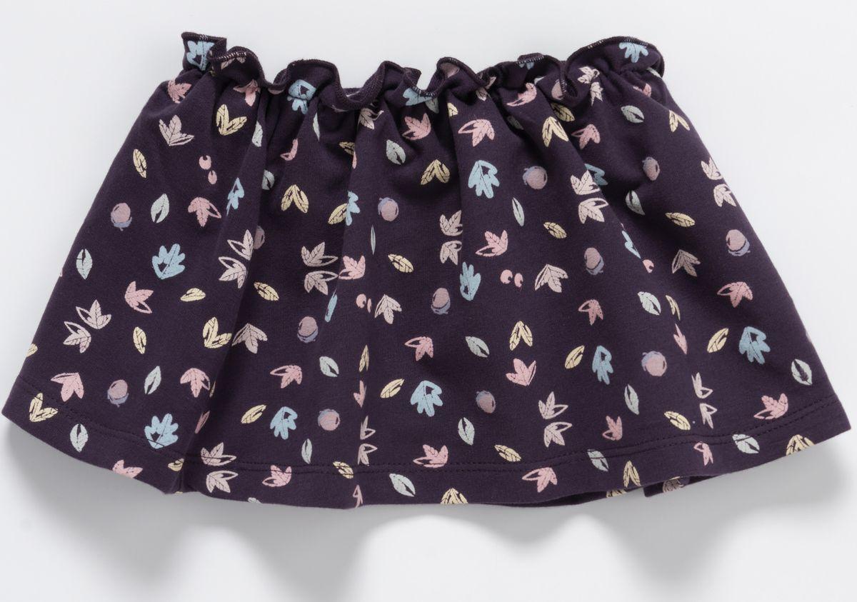 Юбка детская artie, цв. фиолетовый, р-р 68