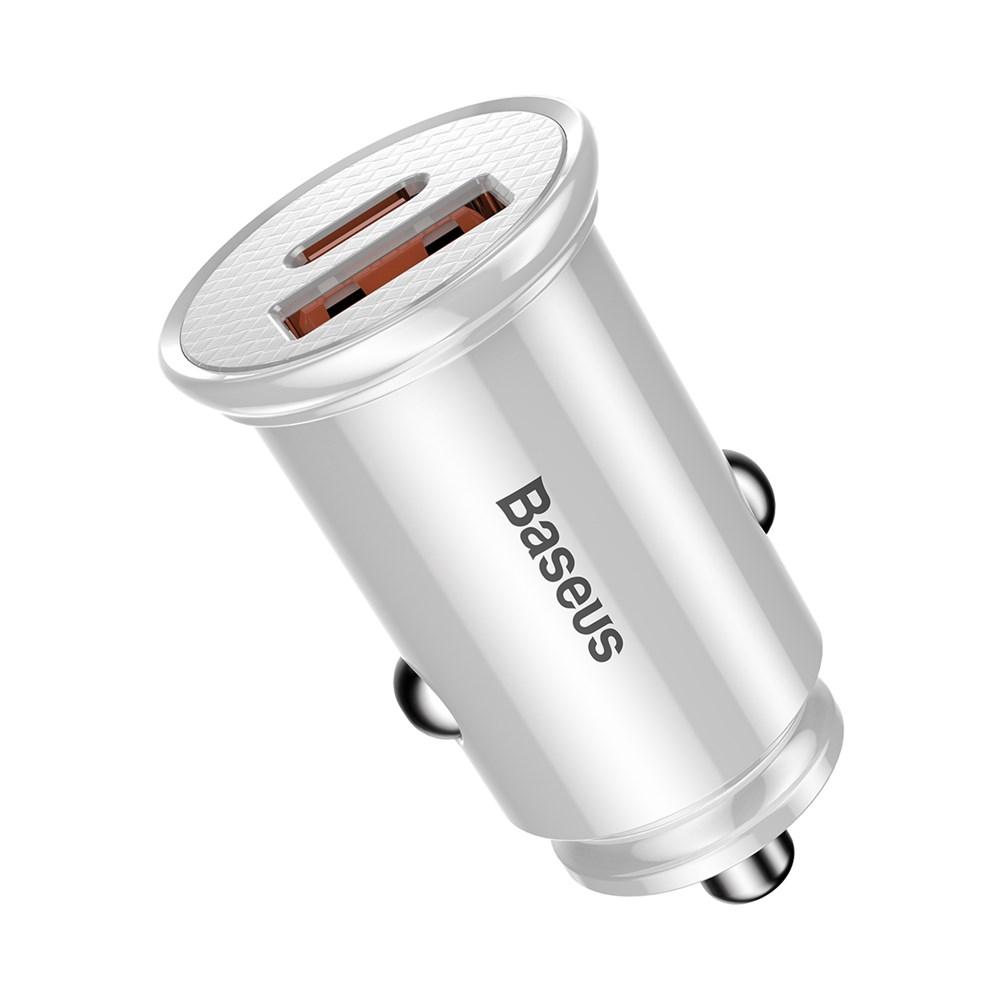 Автомобильное зарядное устройство Baseus PD3.0+QC4.0+USB+USB Type-C Baseus 30W CCALL-YS02 фото