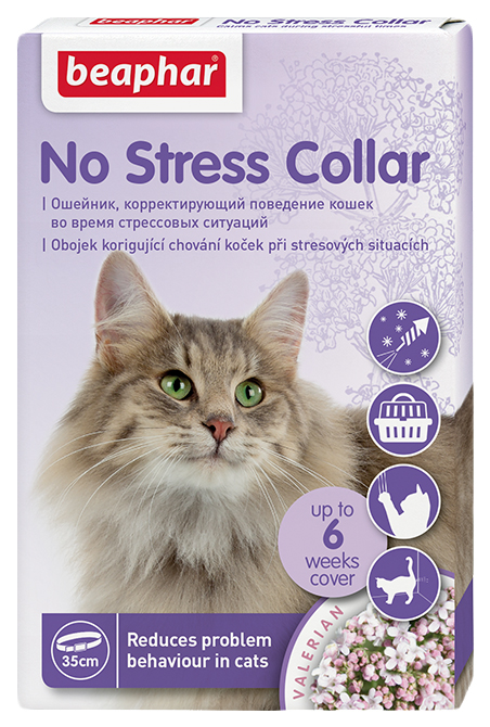 Ошейник Beaphar No Stress Collar для кошек