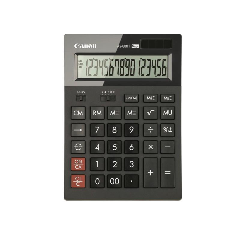 Калькулятор настольный Canon AS-888 II HB EMEA