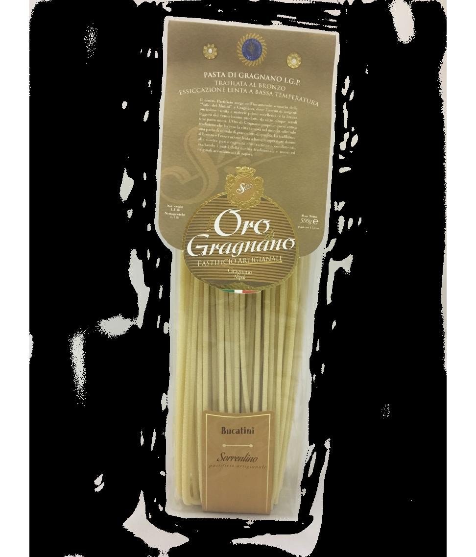 Паста Bucatini L`oro di Gragnano из твердых сортов пшеницы 500 г по цене 384