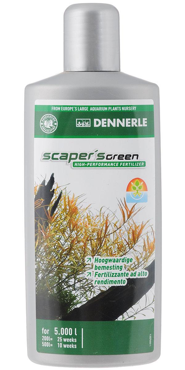 Удобрение для аквариумных растений Dennerle Scaper's Green