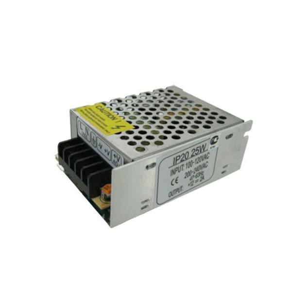 Ecola Блок Питания 25W 220V-12V Ip20 80Х60Х33 B2L025Esb.