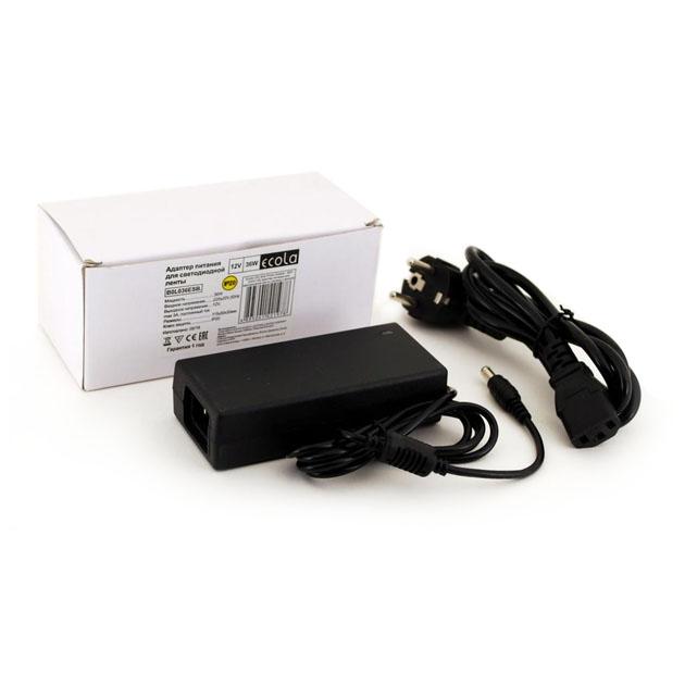 Ecola Адаптер для светодиодных лент 36W 220V-12V B0L036Esb.