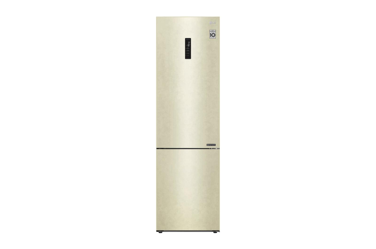 Холодильник LG GA-B 509 CESL Beige