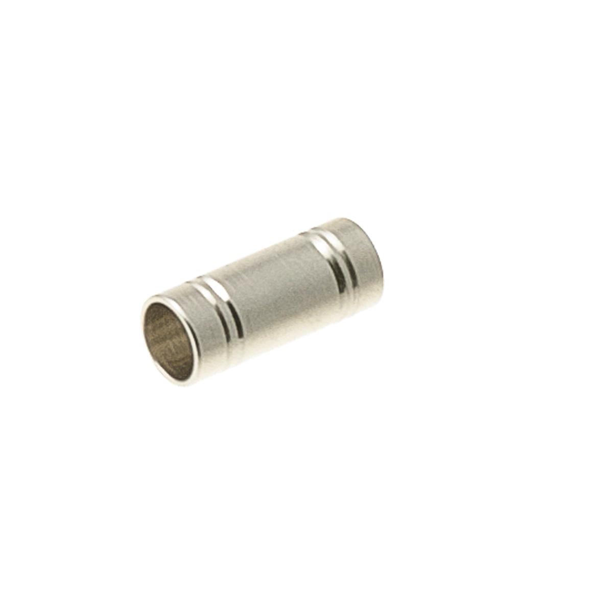 ZooOne Трубка, 4x14 мм (серебристый)