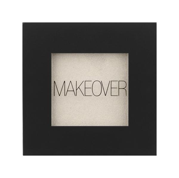 Тени для век Makeover Paris Single Eyeshadow White Shimmer
