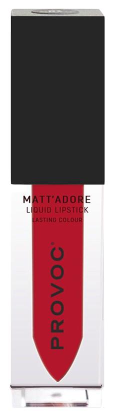 Купить Жидкая помада PROVOC MATT'ADORE Классический красный