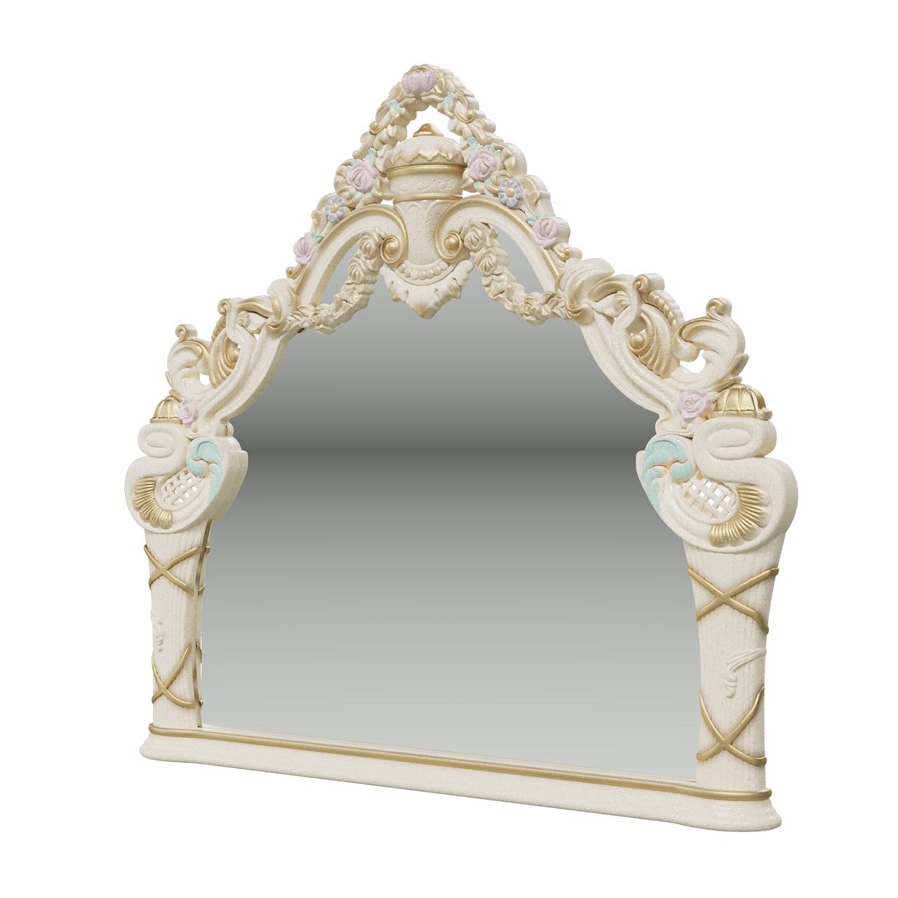 Зеркало Мэри Мебель Людовик СЛ 06 слоновая