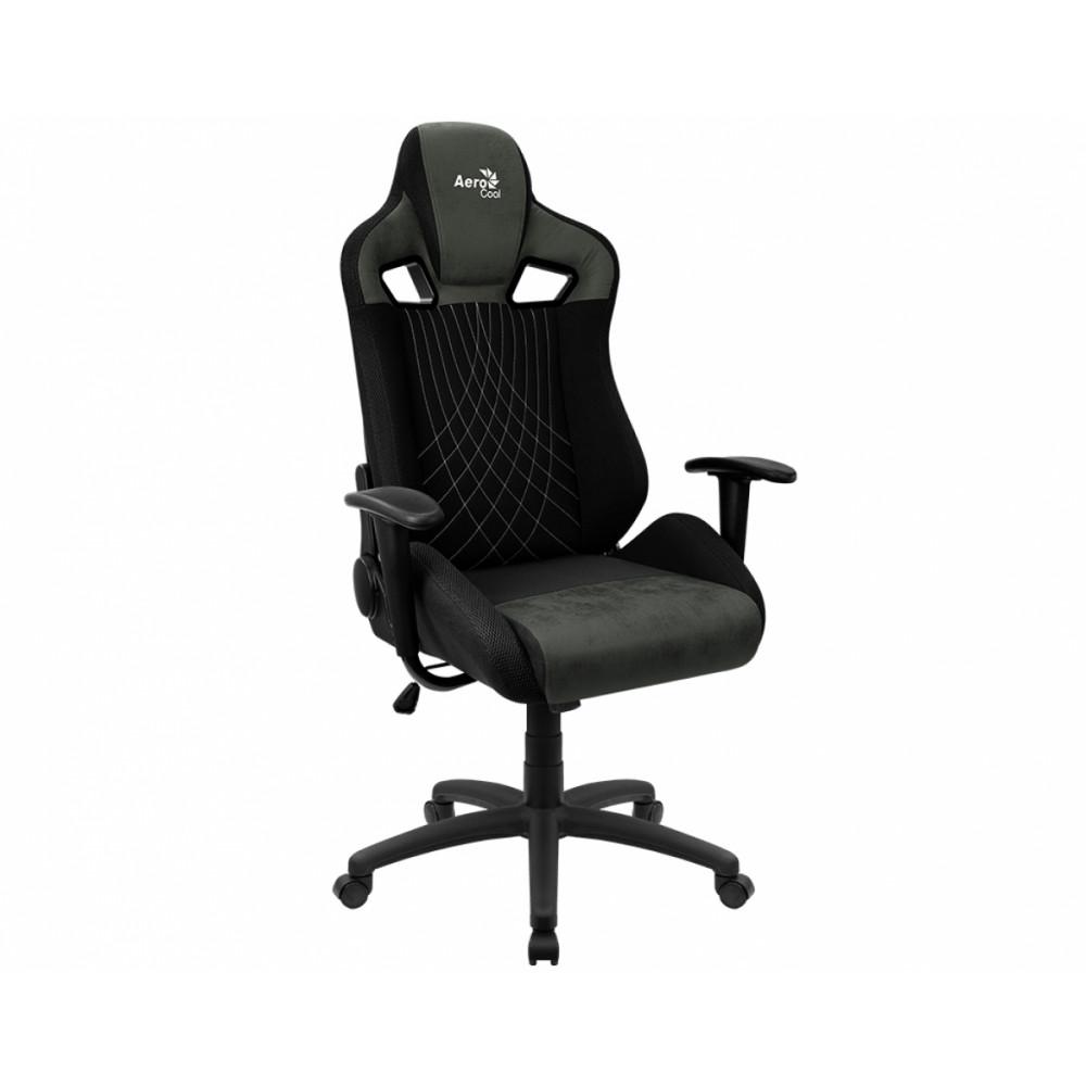 Игровое кресло AeroCool Earl AC-EARL-HG, зеленый/черный фото