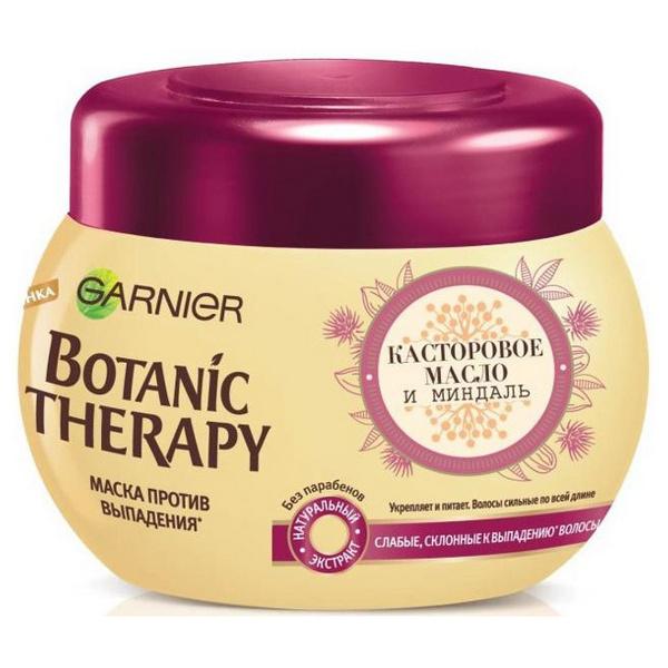 Купить Маска для волос Garnier Botanic Therapy Касторовое масло и миндаль 300 мл