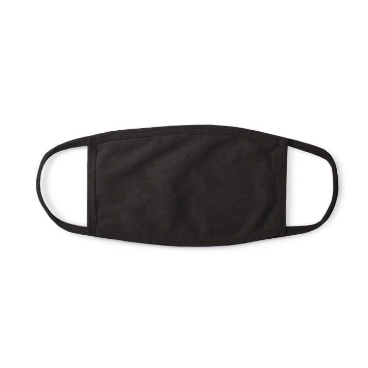 Многоразовая защитная маска Территория здоровья 4020 Свободное дыхание черная 1 шт.