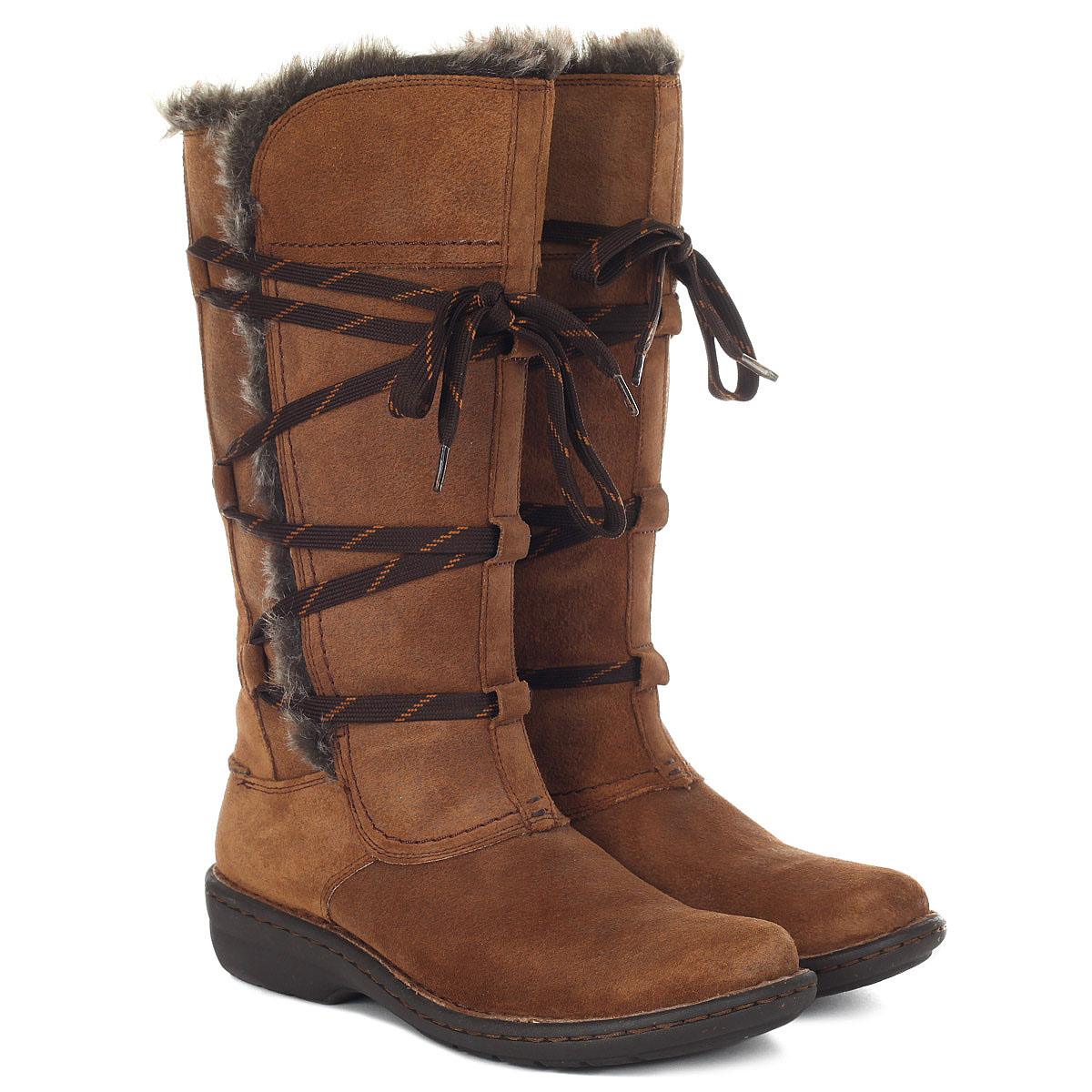 Сапоги женские Clarks Avington Hayes 26120453 коричневые 36 EU