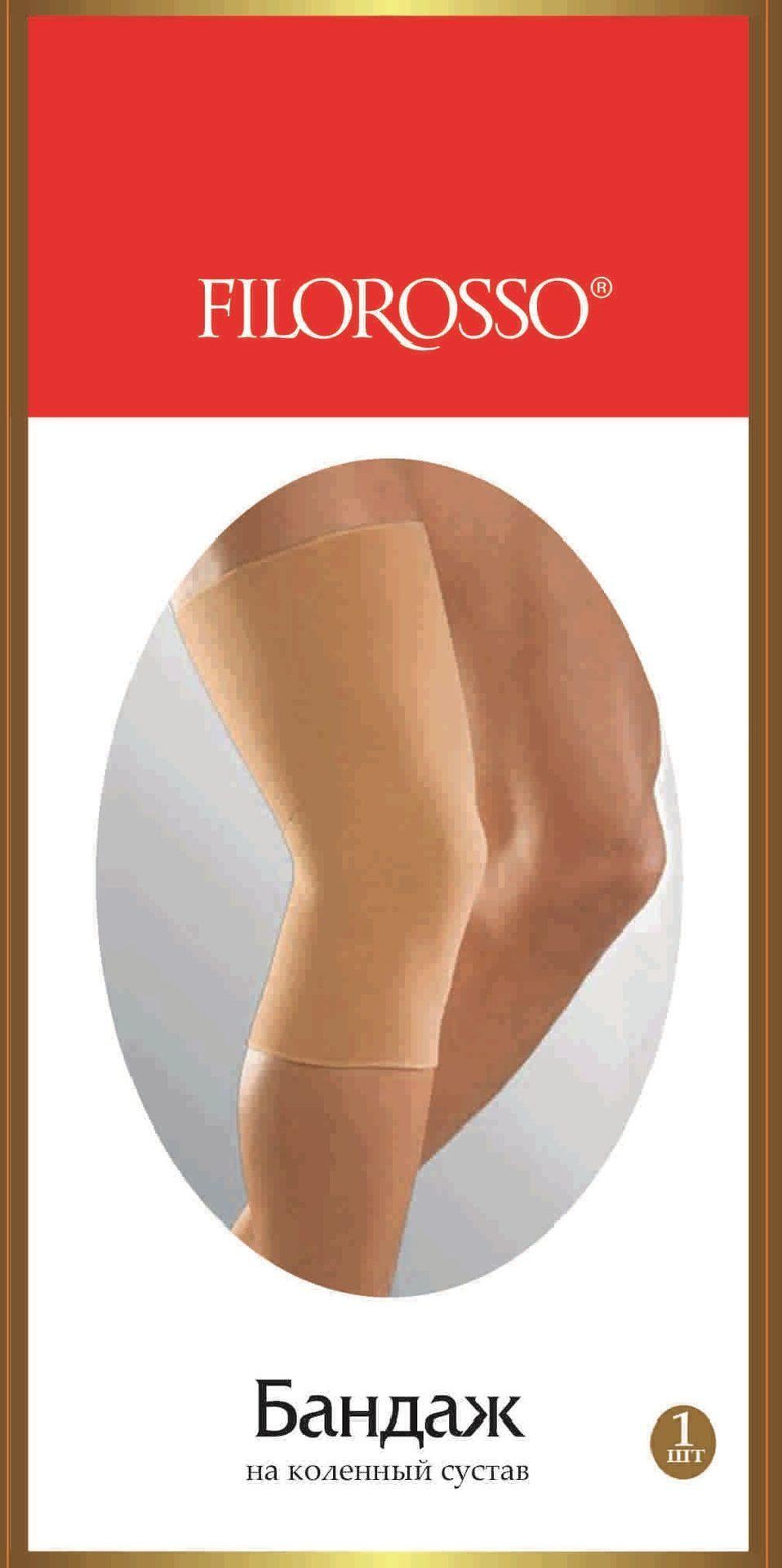 Бандаж коленного сустава Filorosso 50 den