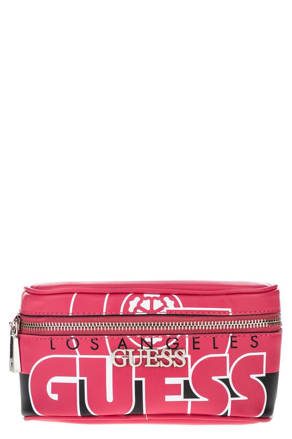 Розовая сумка со съемным поясным ремнем, б/р
