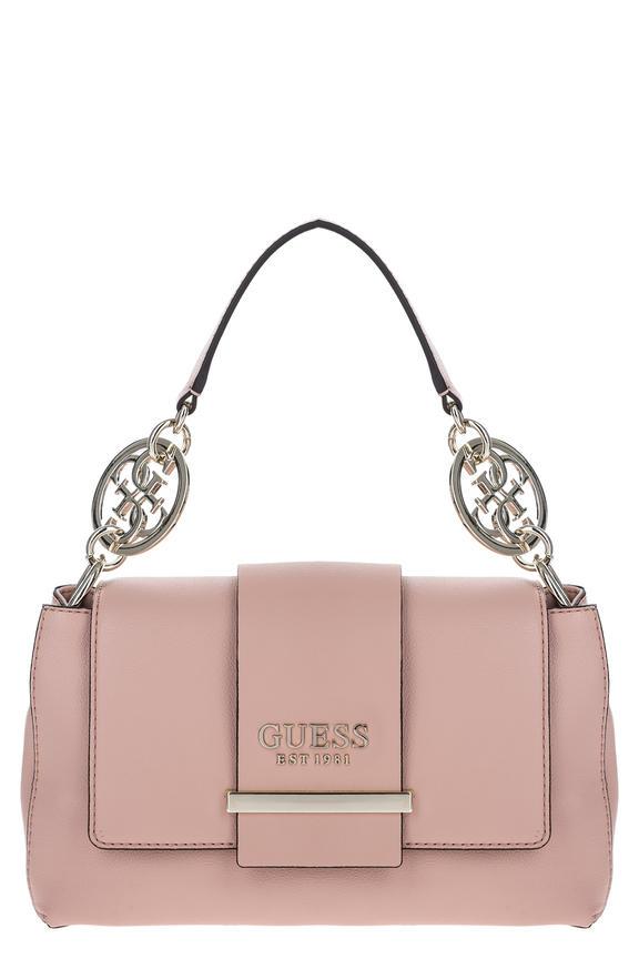 Розовая сумка со съемным плечевым ремнем, б/р