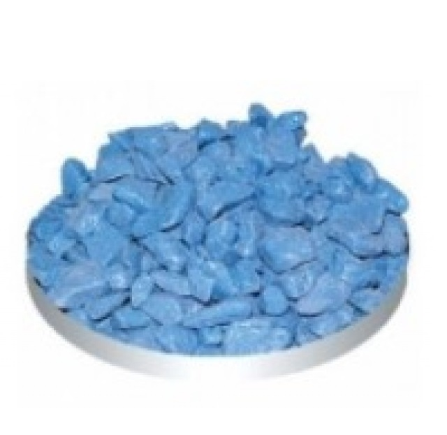 Грунт Тriton Голубой (крупный) блестящий, 800 г
