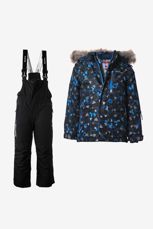 Комплект верхней одежды Kuoma цв. черный р.98