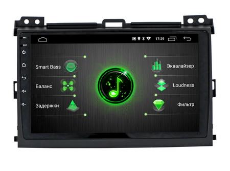 Штатная магнитола Incar DTA-2209 для Lexus GX 470, Toyota Land Cruiser Prado 120, Incar (Intro)  - купить со скидкой