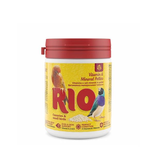 Витаминно минеральные гранулы RIO, для канареек, экзотов